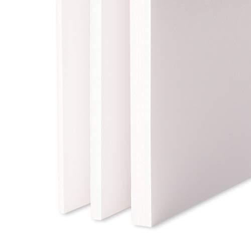 Leichtschaumplatte Weiss - DIN A1-1 Stück - 3mm stark - alle Größen - alle Stärken