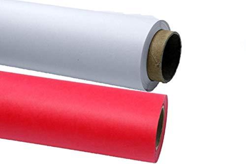 5X Hintergrundkarton Farbwahl Hintergrund Papierhintergrund Fotostudio 2,72 x 11m 150g/qm