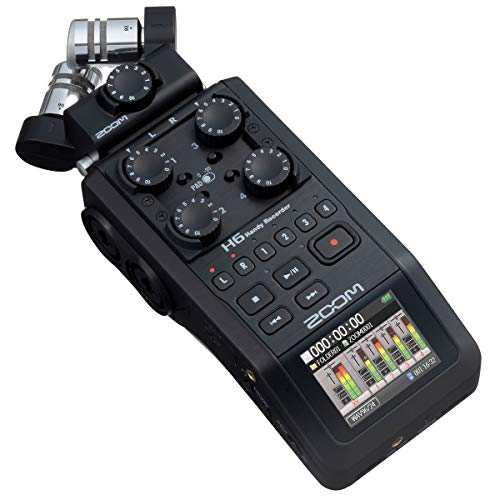 Zoom H6 Black/GE mobiler Audio-Rekorder
