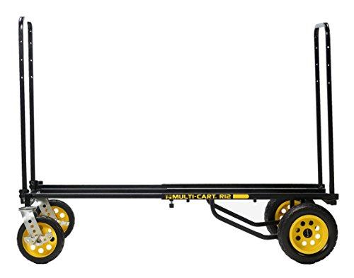 RocknRoller Multifunktionswagen R12RT 500 lb./34' x 52' schwarz
