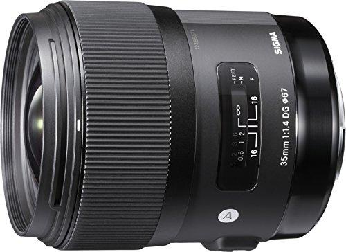 Sigma 35mm F1,4 DG HSM Art Objektiv (67mm Filtergewinde) für Canon Objektivbajonett