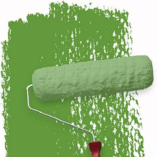 WALLCOVER Greenscreen Farbe Chroma Key Wandfarbe Grün 2,5 L MATT | matte Farbe für professionelle Streamer, Fotostudio, TV Studio Hintergrund, Fotohintergrund