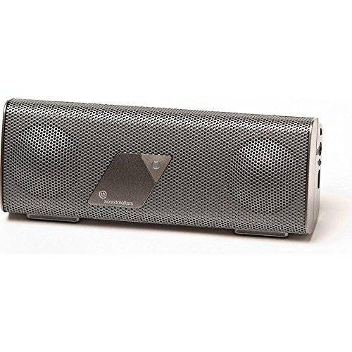 FoxL v2 Platinum aptX Bluetooth HiFi Funklautsprecher Titan glänzend