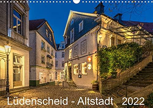 Lüdenscheid - Die Altstadt 2022 (Wandkalender 2022 DIN A3 quer)