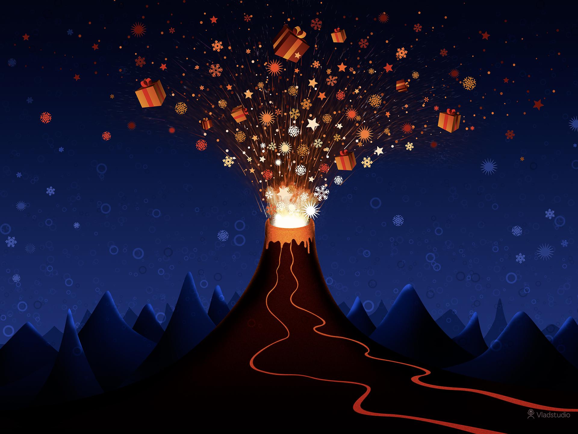 Weihnachten Nacht Sterne