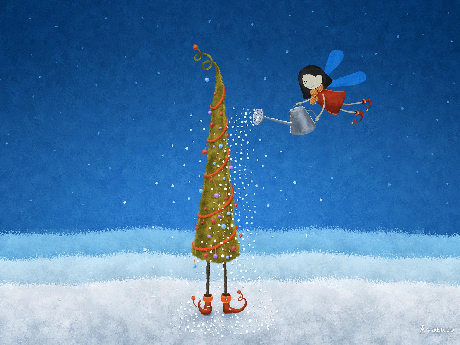 weihnachtsbaum-grusskarte-vlad-gerasimov
