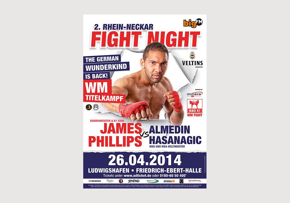 Plakat Kickboxen