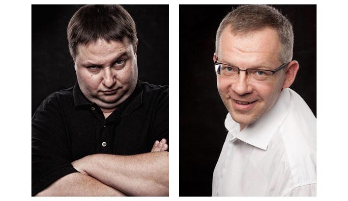Henrik und Vadym beim letzten Treffen