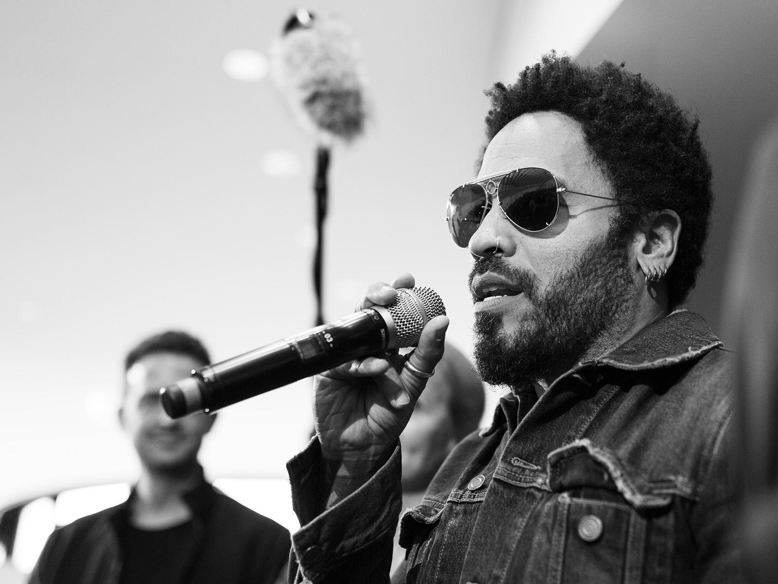 Lenny Kravitz bei Leica