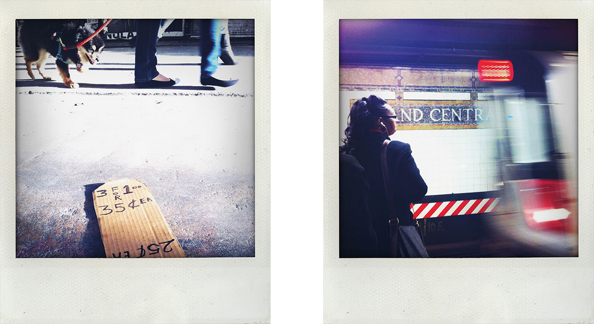 Polaroid Stil Digital