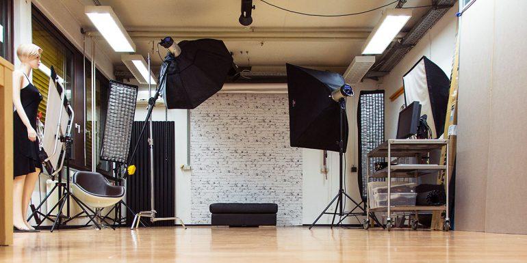 Fotostudio Einrichtung