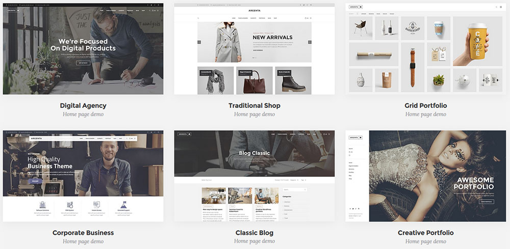 Theme WordPress Woocommerce
