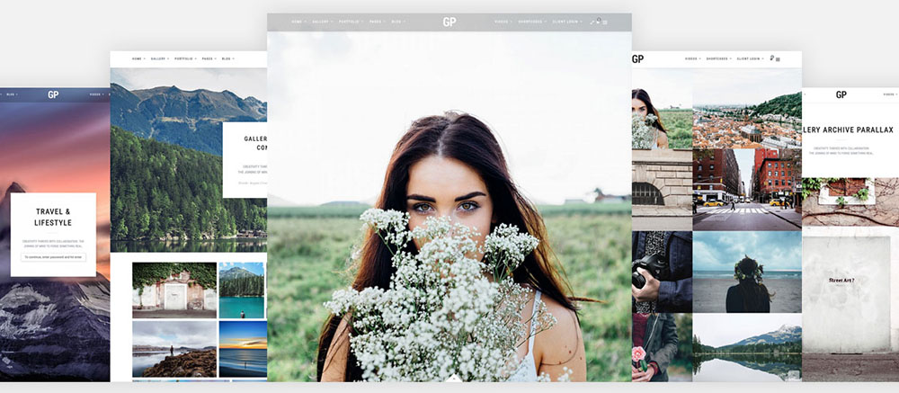 wordpress theme fotografie