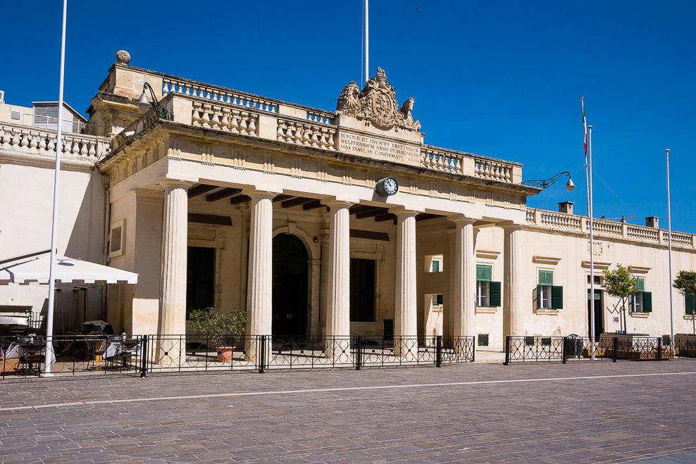 Alte Hauptwache in der Republic Street Valletta / Malta