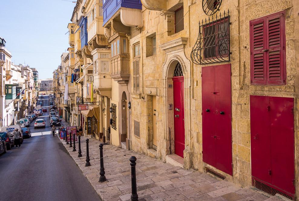 Republic Street Valetta Malta