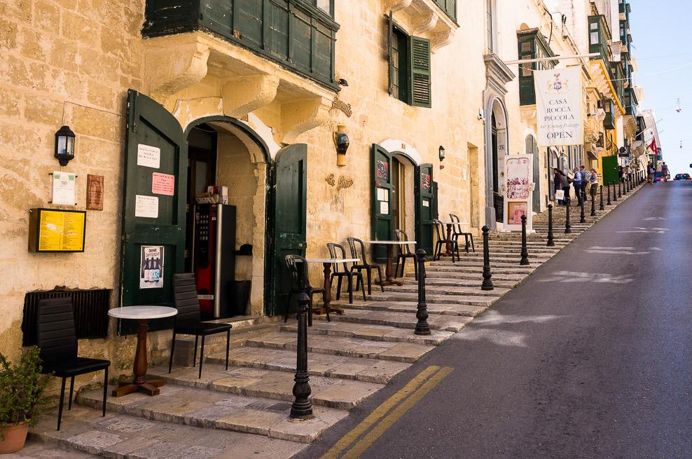 Strait Street in Valetta