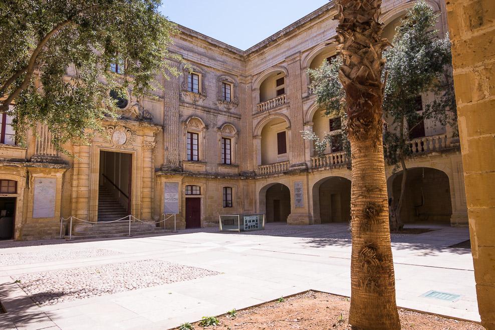 Palazzo Vilhena, Mdina