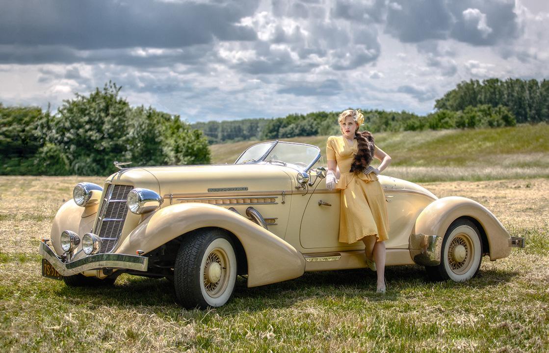 Model mit Auburn von 1936 - 4
