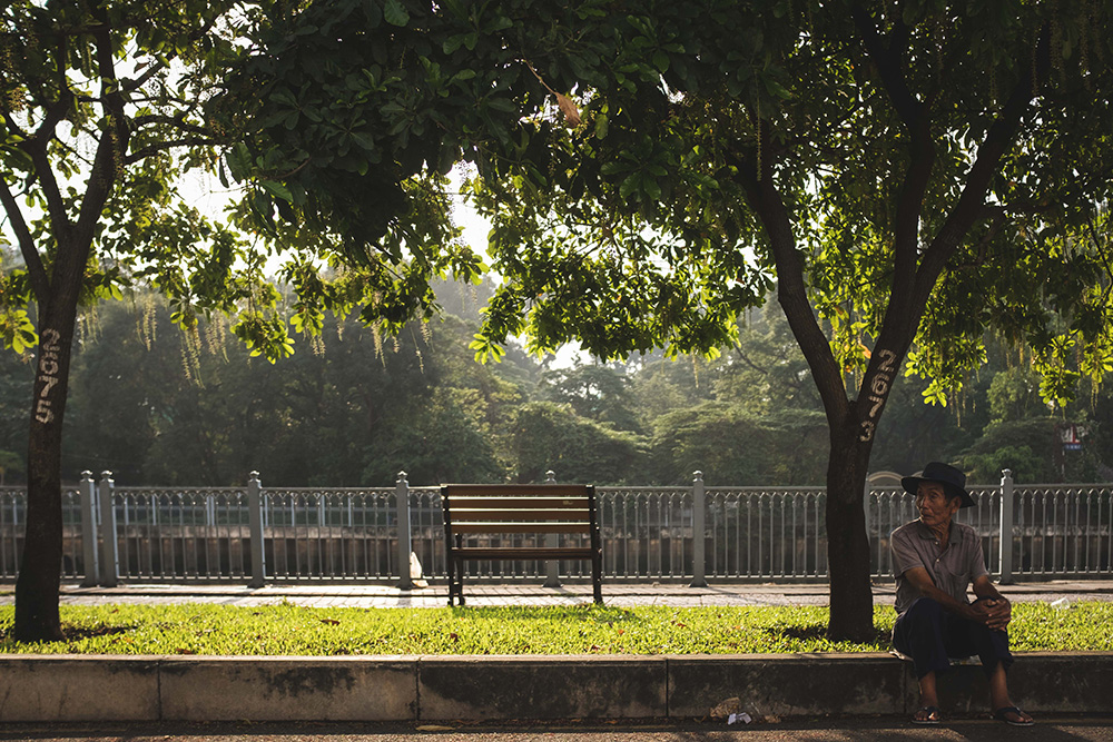 Empty Bench - Saigon