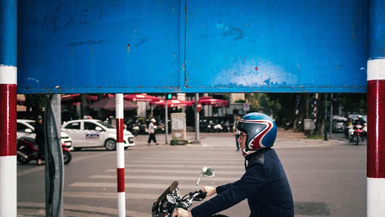 Race Helmet - Hanoi LQ