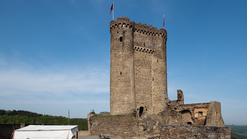 Der Bergfried der Ehrenburg