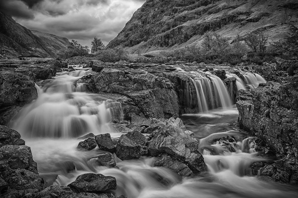 Langzeitbelichtung-Wasserfall