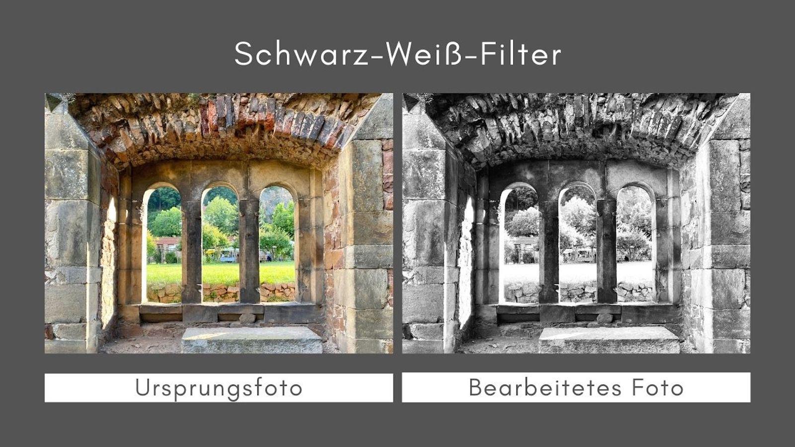 Schwarz-Weiss-Filter
